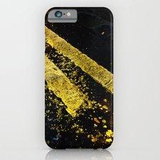 Yellow lines Slim Case iPhone 6s