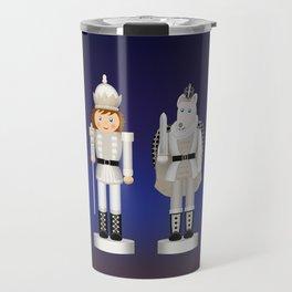 Toy King and Mouse King on Christmas Eve. Travel Mug