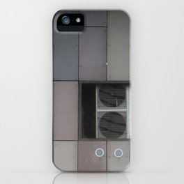 architecture of inhuman iPhone Case
