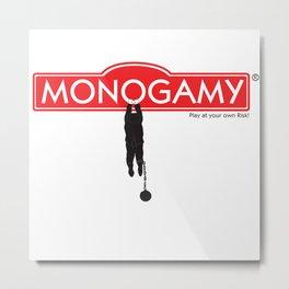 Monogamy Metal Print