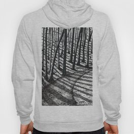 'Trees and Shadows' Hoody
