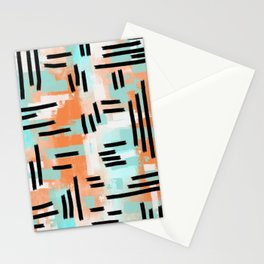 Linear Abstract Stationery Cards
