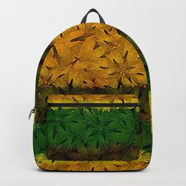 Tribal Floral Pattern Backpack