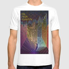 The Color Adventure in The Mistic Areas T-shirt