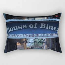Hall of House of Blues Rectangular Pillow