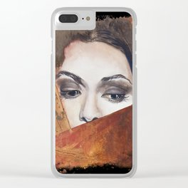 Lady #1 Clear iPhone Case