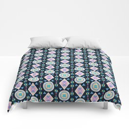Dancing Diamonds By Everett Co Comforters