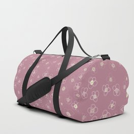Sunset in Odense XI Hand drawn doodle floral Duffle Bag