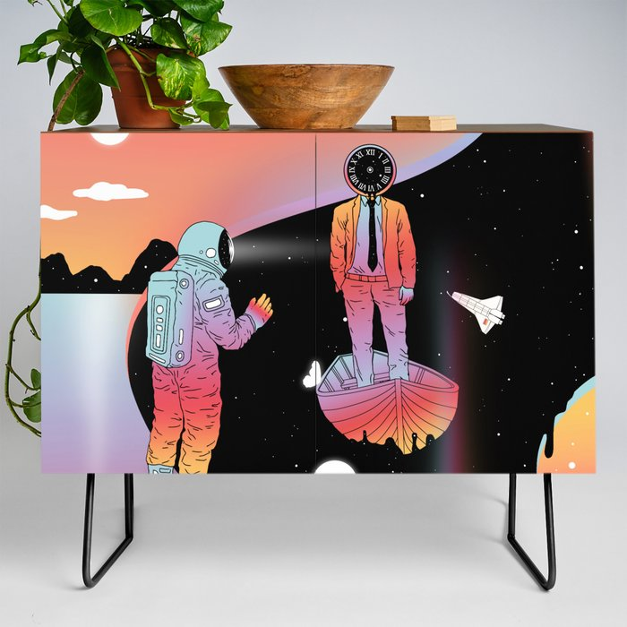 Coexistentiality_2_A_Passing_View_Credenza_by_Norman_Duenas__Black__Walnut