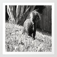 poodle Art Prints featuring Poodle by Quotably Yours