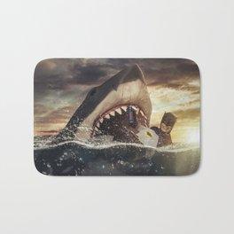 Bruce vs. Bruce / Jaws Bath Mat