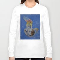 angel Long Sleeve T-shirts featuring Angel by Michael Creese