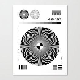 Testchart #2 Canvas Print