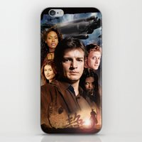 firefly iPhone & iPod Skins featuring Firefly by SB Art Productions