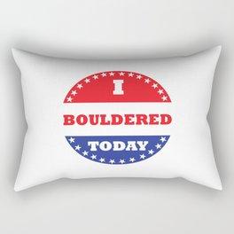 I Bouldered Today Rectangular Pillow