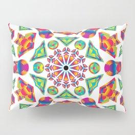Prismatic Kaleidoscopicism Pillow Sham