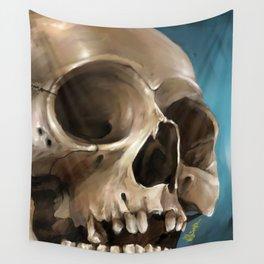 Skull 1 Wall Tapestry