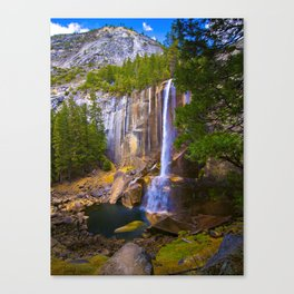 Vernal Falls, Yosemite National Park, Fall 2013 Canvas Print