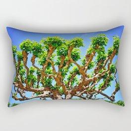 Gnarly Tree Of San Francisco Rectangular Pillow
