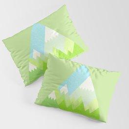 national park geometric pattern Pillow Sham