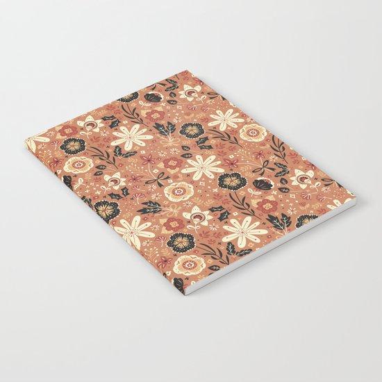 Festive Florals (Oranges) Notebook