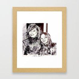 NIPPY & WHITNEY Framed Art Print