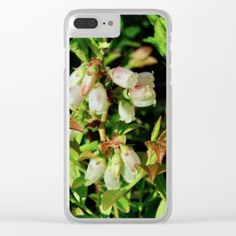 Tiny Blossoms on a Dirt Road Clear iPhone Case