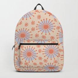 Carousel Retro Blue Backpack