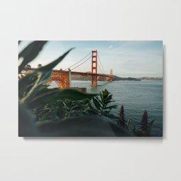 San Francisco bridge Metal Print