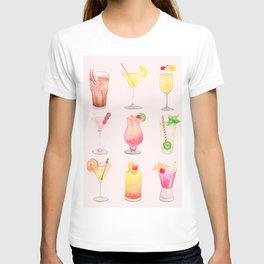 Summer Cocktails 12 T-shirt