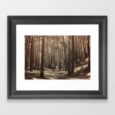 it's autumn Framed Art Print