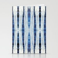 nori Stationery Cards featuring Nori Blue by Nina May Designs