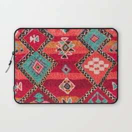 18 - Traditional Colored Epic Anthique Bohemian Moroccan Artwork Laptop Sleeve
