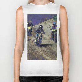 The Home Stretch - Motocross Racers Biker Tank