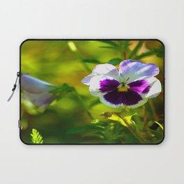 Beautiful Pansy  Laptop Sleeve