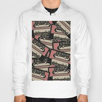cassette Hoodies featuring Broken Cassette by Sophie Bland