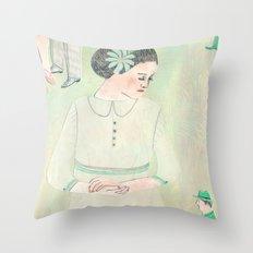 Mea culpa Throw Pillow