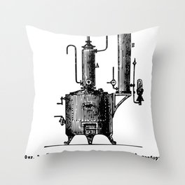 Brockhaus-Efron Distillery 2 Throw Pillow