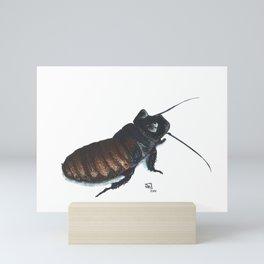 Madagascar Hissing Cockroach Mini Art Print