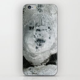 face texture white iPhone Skin