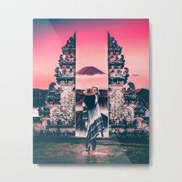 Bali Views Metal Print