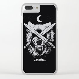 II of Swords Clear iPhone Case
