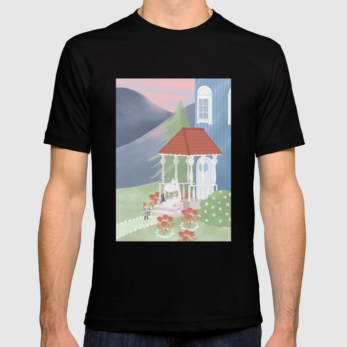 Spring In Moominvalley T Shirt by Society6