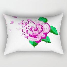 Rose,distortion effect Rectangular Pillow