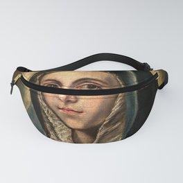 """El Greco (Domenikos Theotokopoulos) """"The Virgin Mary"""" Fanny Pack"""
