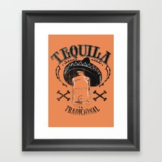 Tequila Tradicional Framed Art Print