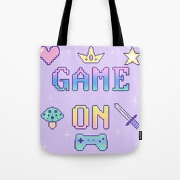 Game On (pastel) Tote Bag