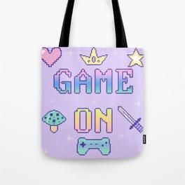Game On (pastel) Tote Bag