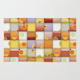 cocktail squares Rug