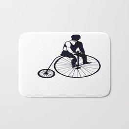 Vintage Bike Bath Mat